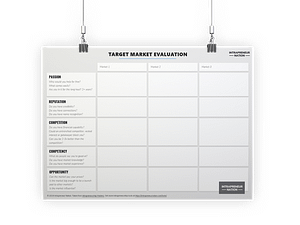 Target Market Evaluation Canvas