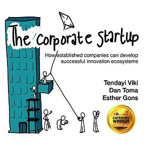 The Corporate Startup cover