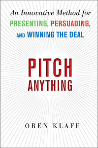Pitch Anything book cover